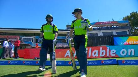 CWC15 IRE vs IND - Ireland innings highlights