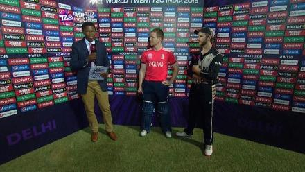 Match Presentation for ENG V NZ Match 33 ICC WT20 2016