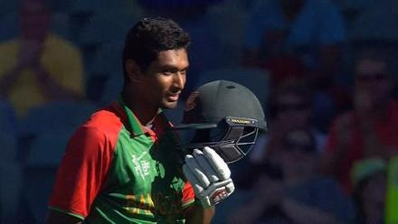 CWC15 BAN vs ENG - Bangladesh innings highlights