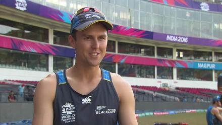 Trent Boult champing at the bit