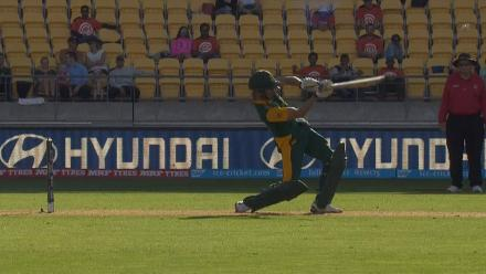 CWC15 SA vs UAE - South Africa innings highlights