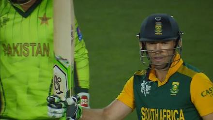 CWC15 PAK vs SA - South Africa innings highlights