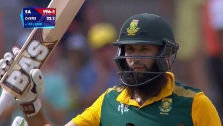 CWC15 SA vs IRE - South Africa innings highlights