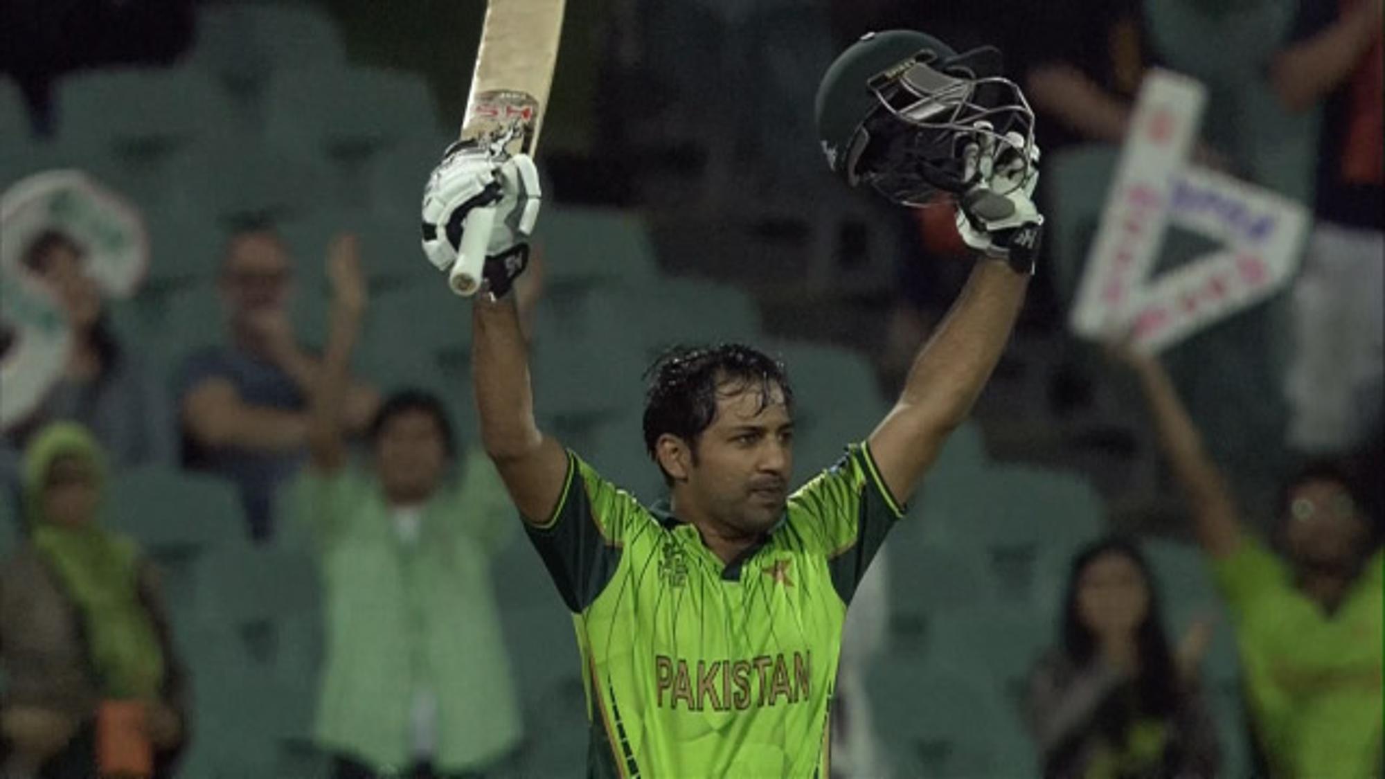 CWC15 IRE v PAK - Pakistan innings highlights