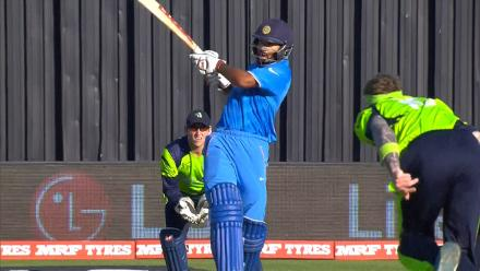 CWC15 IRE vs IND - India innings highlights