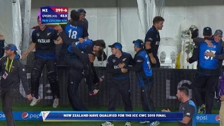 CWC15 SA v NZ SF- New Zealand innings highlights