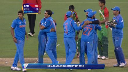 India v Bangladesh Match Highlights CWC Quarter-Final