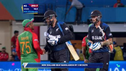 CWC15 BAN vs NZ - New Zealand innings highlights