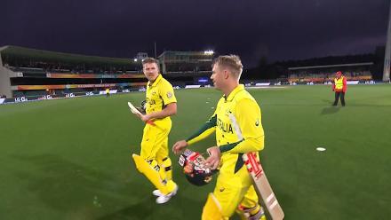 CWC15 SCO vs AUS - Australia innings highlights