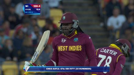 CWC15 NZ vs WI QF - West Indies innings highlights