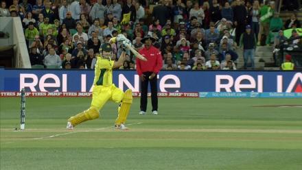 CWC15 PAK vs AUS QF - Australia innings highlights