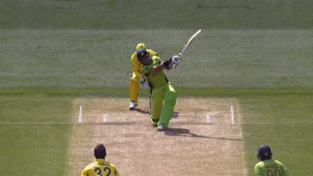 CWC15 PAK vs AUS QF - Pakistan innings highlights