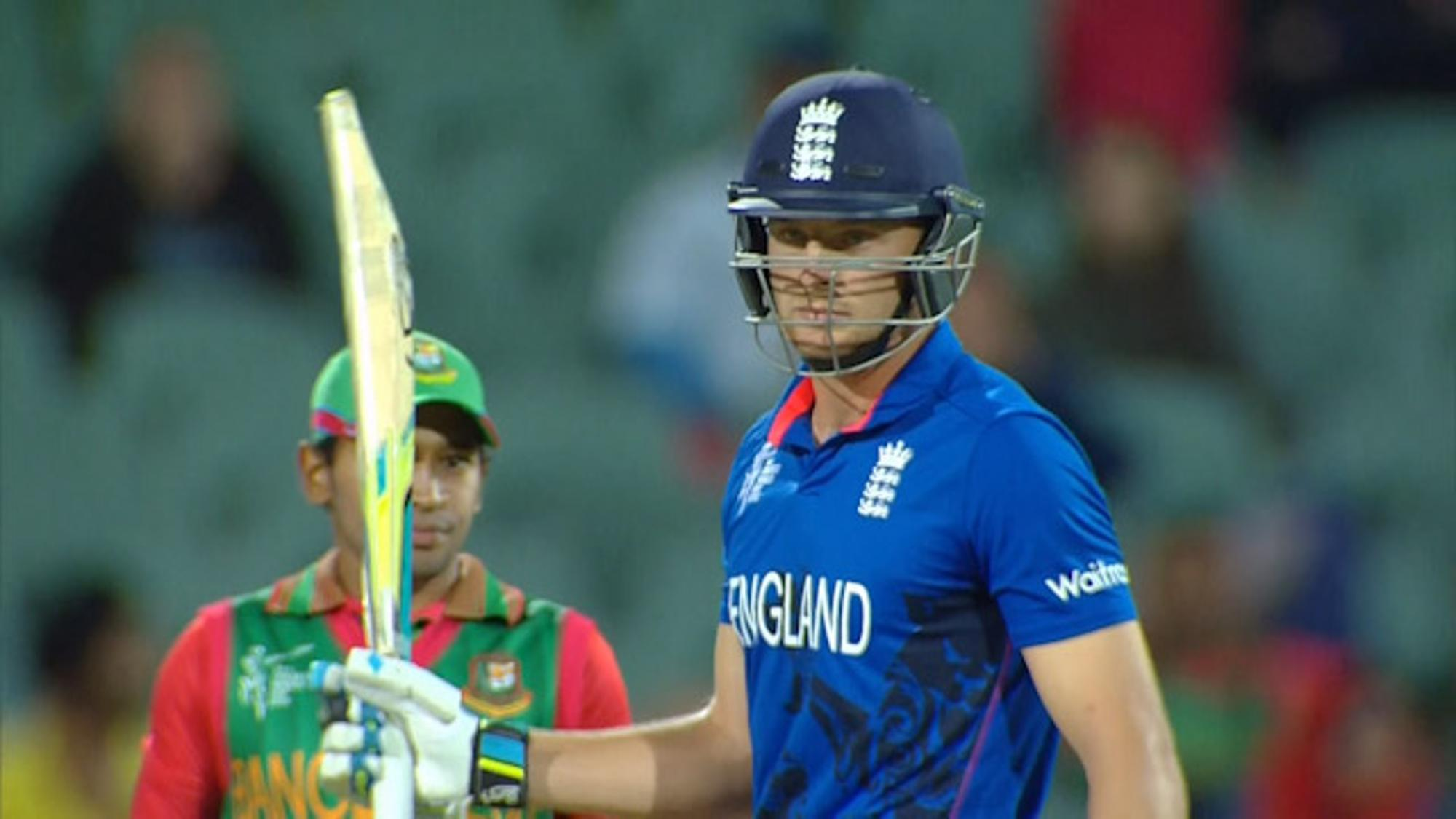 CWC15 ENG vs BAN - England innings highlights