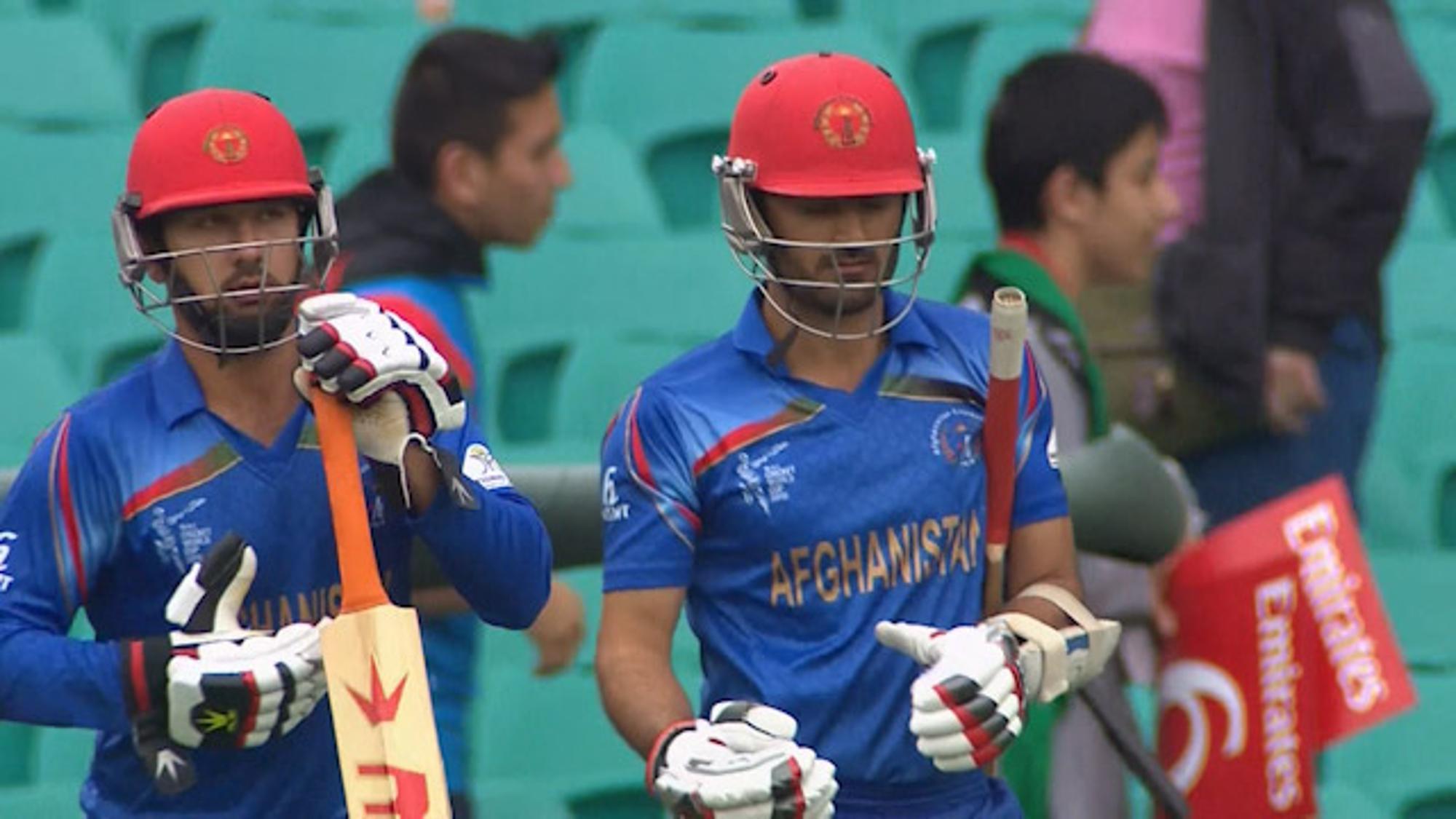 CWC15 AFG vs ENG - Afghanistan innings highlights