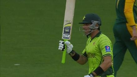 CWC15 PAK vs SA - Pakistan innings highlights