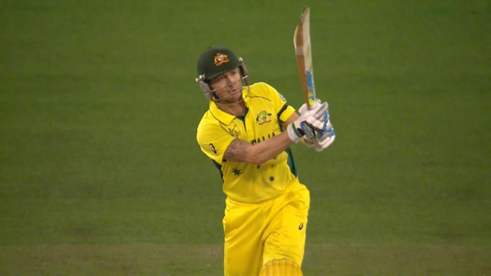 CWC15 NZ vs AUS Final - Australia innings highlights