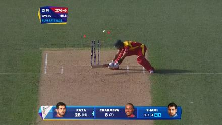 CWC15 ZIM vs IND - Zimbabwe innings highlights