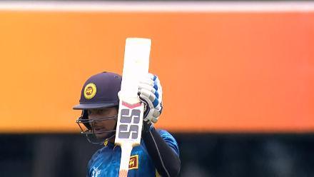 CWC15 SL vs SCO - Sri Lanka innings highlights