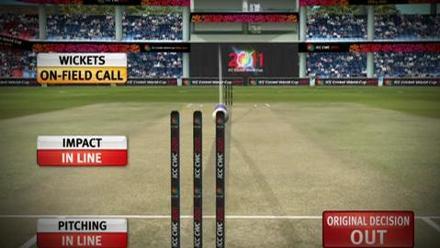 Zaheer Khan's best figures at ICC Cricket World Cup 2011
