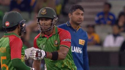 CWC15 SL vs BAN - Bangladesh innings highlights