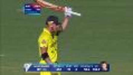 CWC15 AUS vs AFG - Australia innings highlights