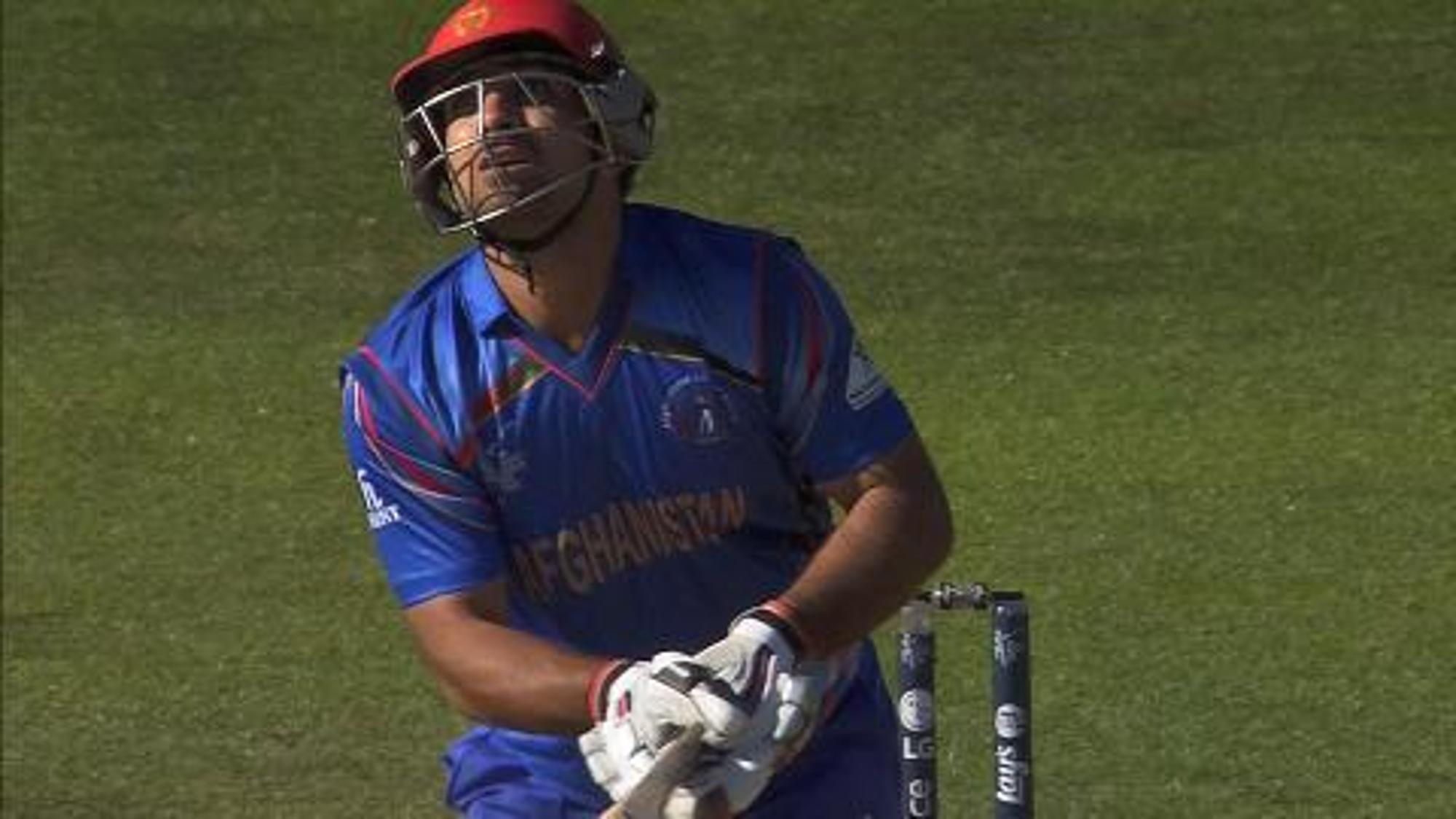 CWC15 SCO vs AFG - Afghanistan innings highlights
