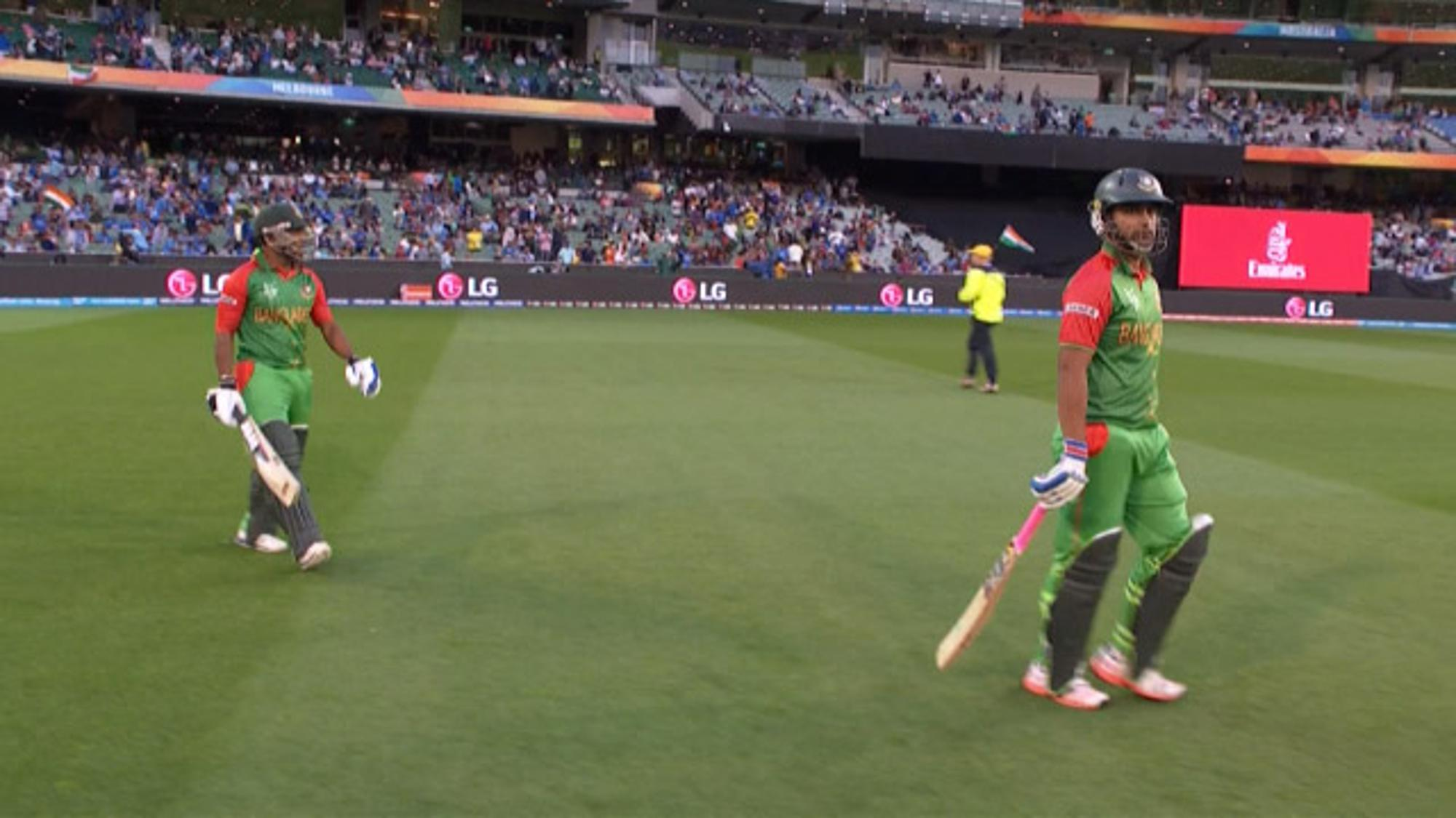 CWC15 IND vs BAN QF - Bangladesh innings highlights