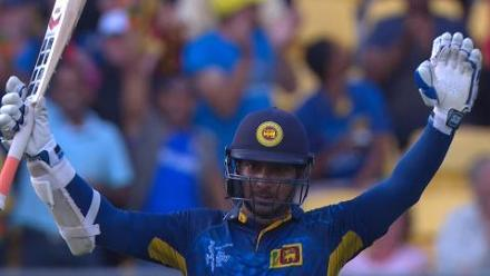 CWC15 Eng vs SL - Sri Lanka innings highlights