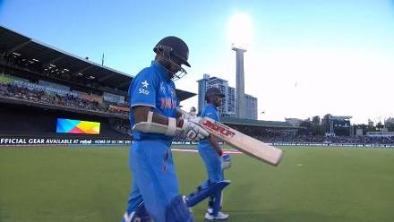 CWC15 WI vs IND - India innings highlights