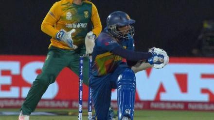 Tillakaratne Dilshan Innings for Sri Lanka V South Africa Video ICC WT20 2016