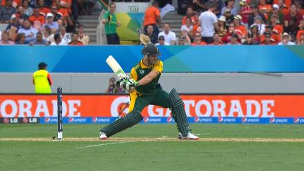 CWC15 SA v NZ SF- South Africa innings highlights