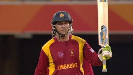 CWC15 PAK vs ZIM - Zimbabwe innings highlights