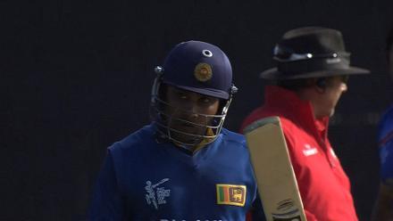 CWC15 AFG v SL - Sri Lanka innings highlights