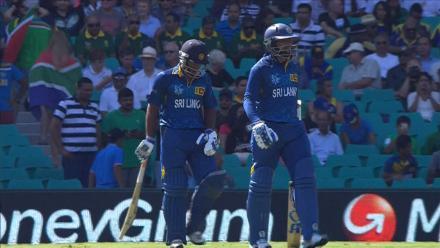 CWC15 SL vs SA QF - Sri Lanka innings highlights