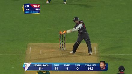CWC15 SA vs UAE - UAE innings highlights