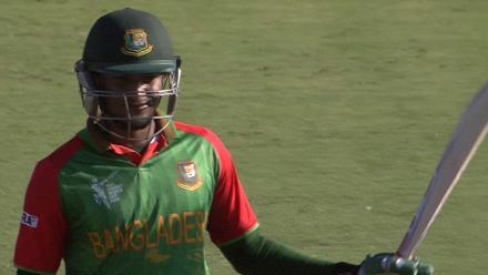 CWC15  BAN vs AFG - Bangladesh innings highlights