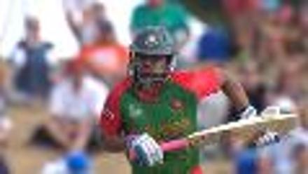 CWC15 SCO vs BAN - Bangladesh innings highlights