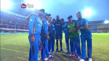 Thrilling finish between Afghanistan and West Indies