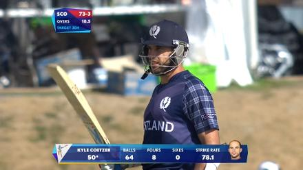 CWC15 ENG vs SCO - Scotland innings highlights