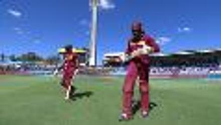 CWC15 WI vs IND - West Indies innings highlights