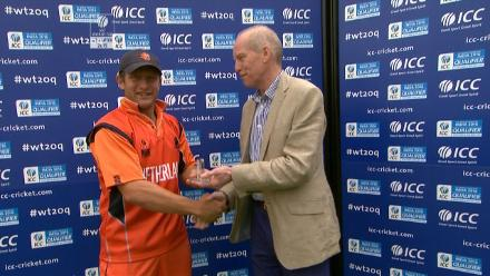 Player of the Match- van der Merwe – UAE vs NED