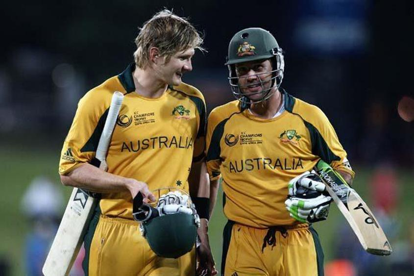 Watson And Ponting Are The Australian Batsmen To Score Tons In Champions Trophy