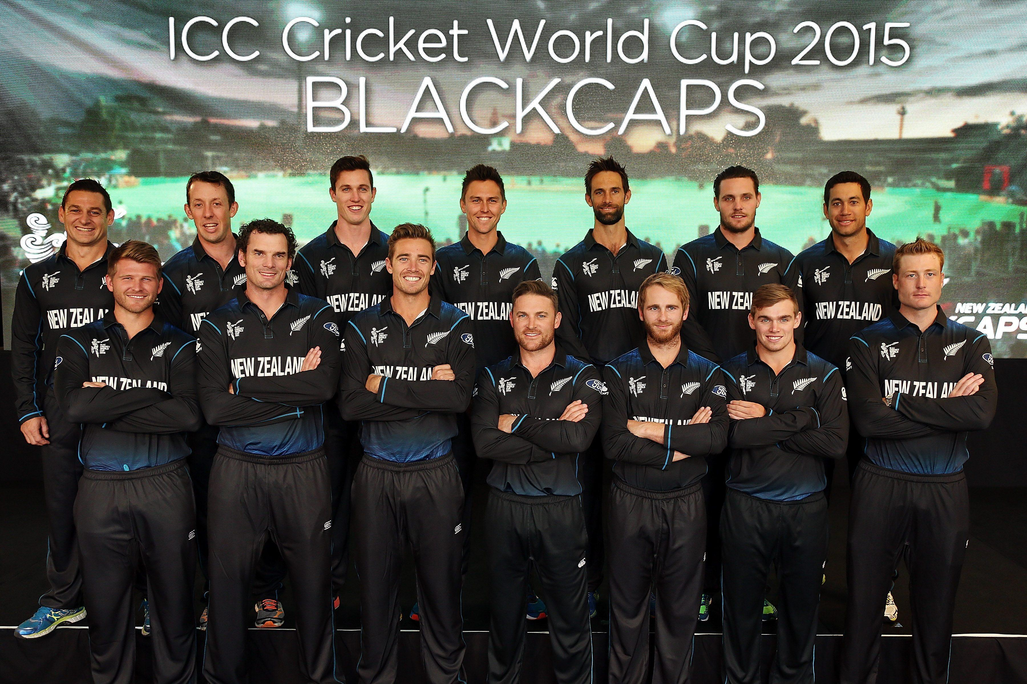 New Zealand Names Final 15 Man Squad For Icc Cricket World