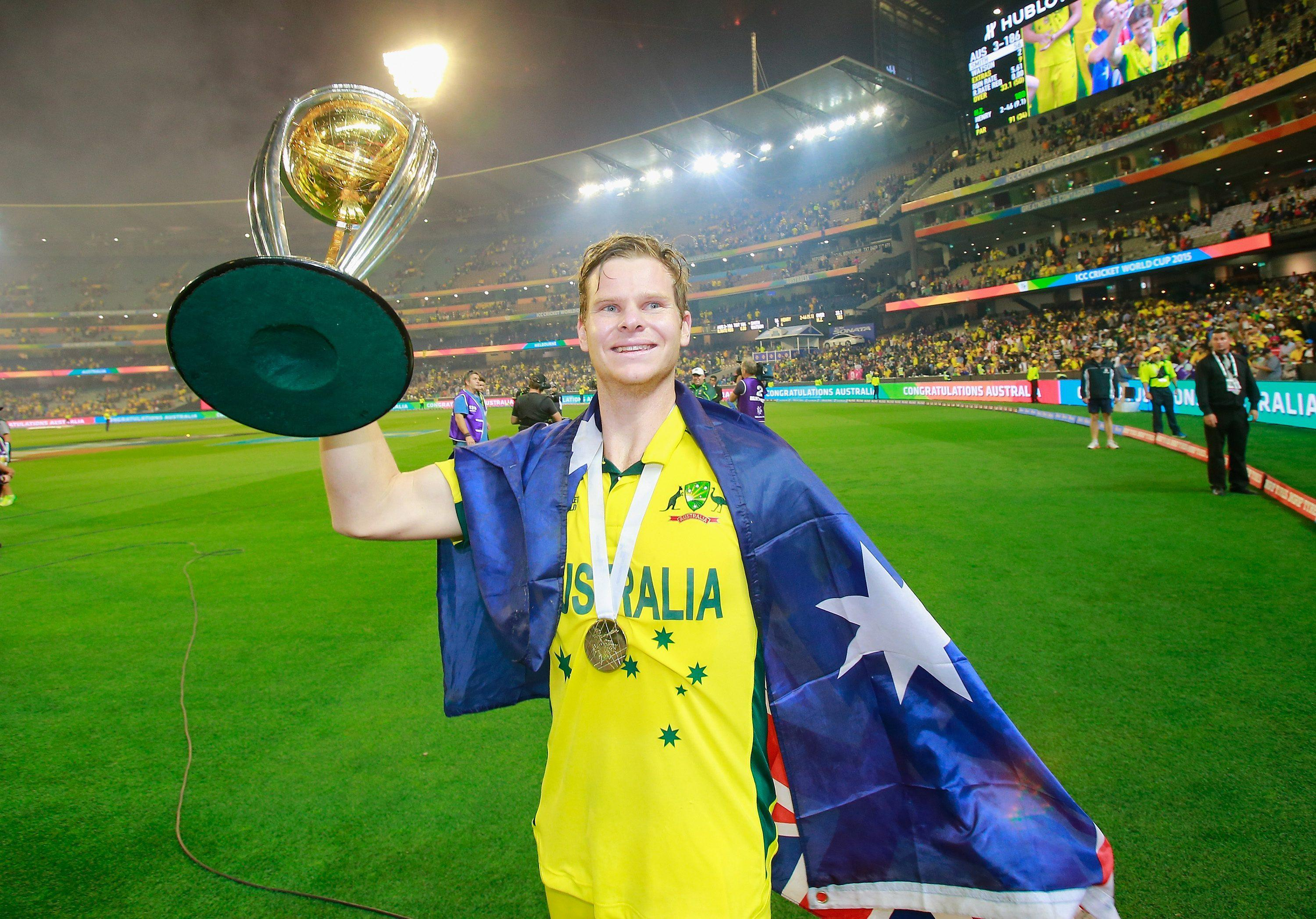 Steve Smith wins the Sir Garfield Sobers Trophy for ICC Cricketer