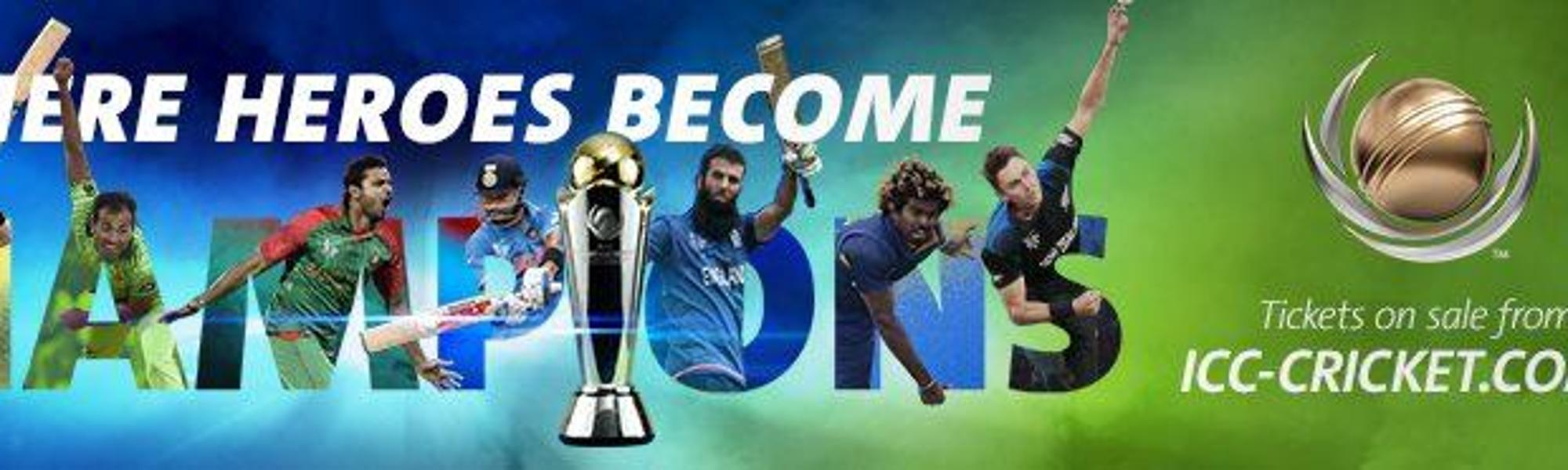 Icc Champions Trophy 2017 Ticket Ballot Opens
