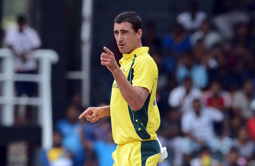 Mitchell Starc has shown that once the ball is swinging, he's a real handful in the modern game.