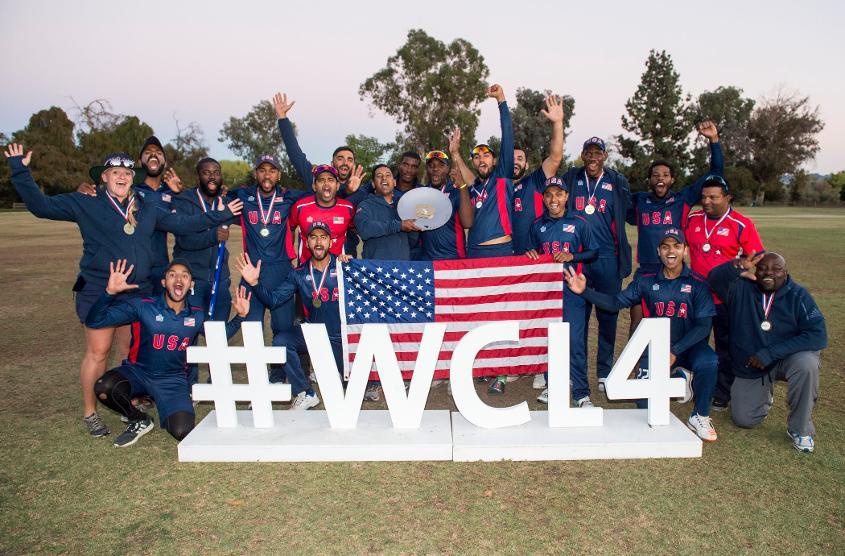 ICC World Cricket League Div 4 winners USA