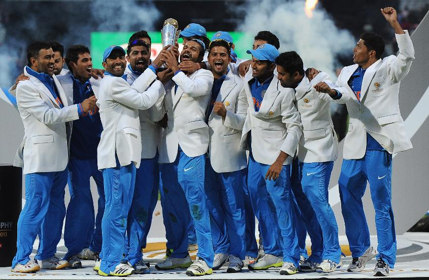 ICC Champions Trophy 2013 winners India