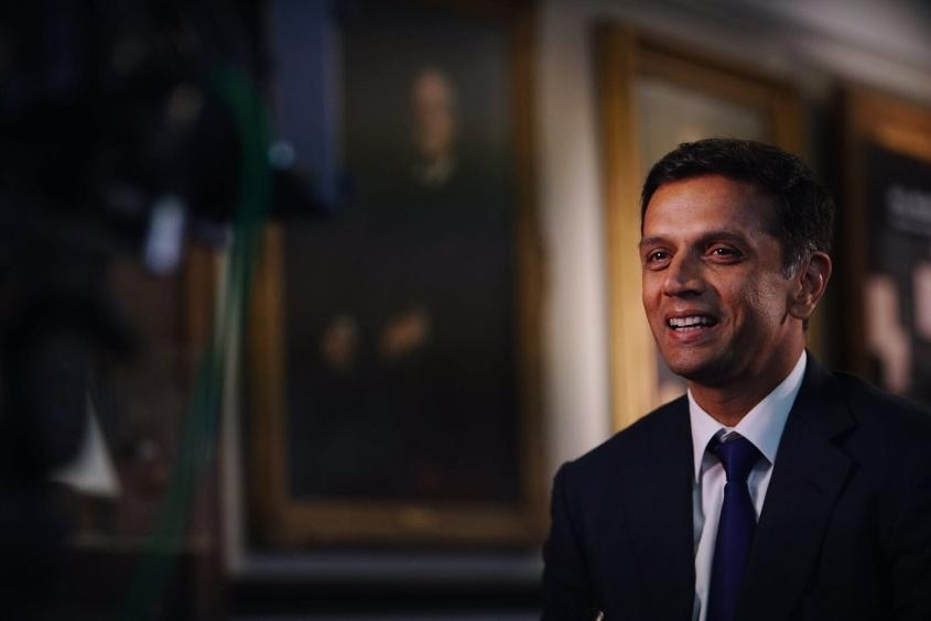 Rahul Dravid appearing on ICC Cricket 360°