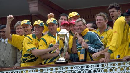 ICC Cricket World Cup, Gallery of Champions